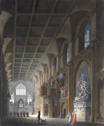 Internal View of Guildhall, London 13-g
